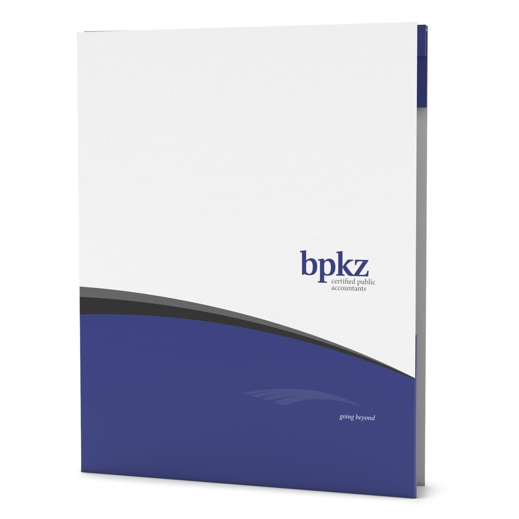 An example of marketing collateral for BPKZ CPA Firm.