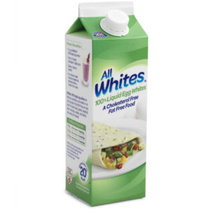 Crystal Farms Egg Whites packaging mockup for a hero photo.
